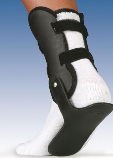 Orteza sztywna lub półsztywna z tworzywa sztucznego na goleń i stopę VALFEET® XR 1SS D/I