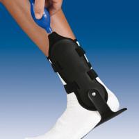 Orteza sztywna lub półsztywna z tworzywa sztucznego na goleń i stopę VALFEET® AIR 2SS D/I