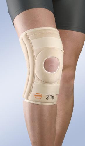 Krótki stabilizator kolana 6102/7102 (z elastycznymi wzmocnieniami bocznymi)