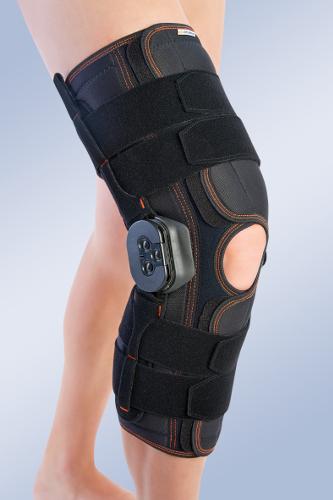 Orteza stawu kolanowego z ruchomym stawem kolanowym z regulacją kąta zgięcia 6113/7113