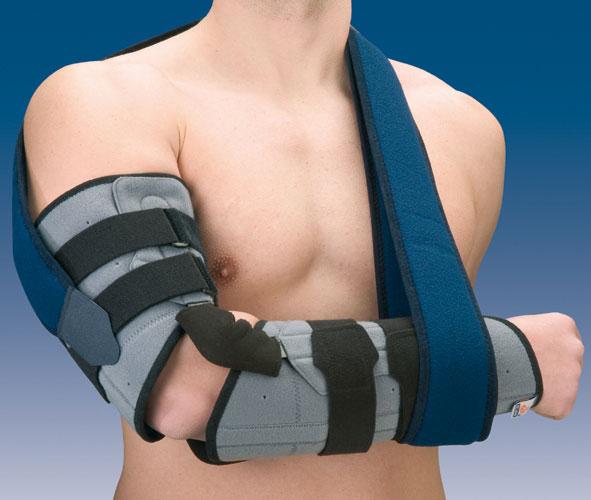 Orteza stawu łokciowego z regulacją kąta zgięcia z ujęciem ręki lub bez Humertec® 94300