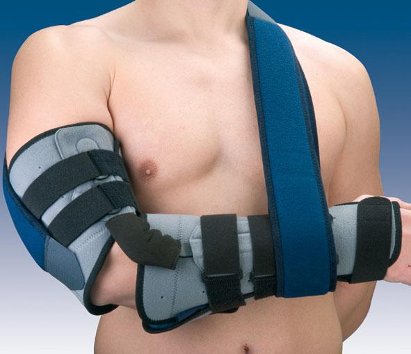 Orteza stawu łokciowego z regulacją kąta zgięcia z ujęciem ręki lub bez Humertec® 94301 D/I