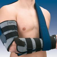 Orteza stawu łokciowego z regulacją kąta zgięcia z ujęciem ręki lub bez Humertec® 94302 D/I