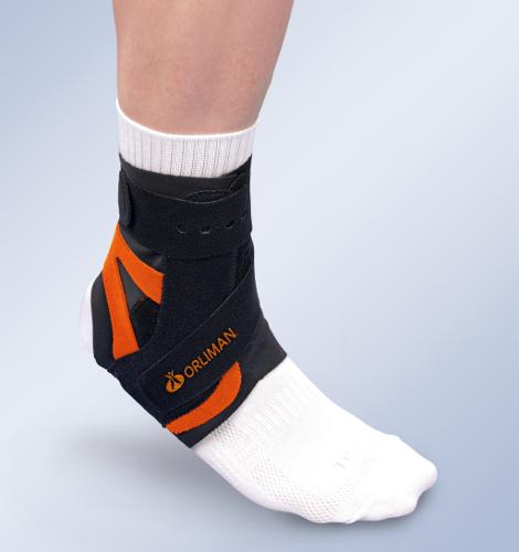 Orteza sztywna lub półsztywna z tworzywa sztucznego na goleń i stopę Alttex® EST-091 D/I