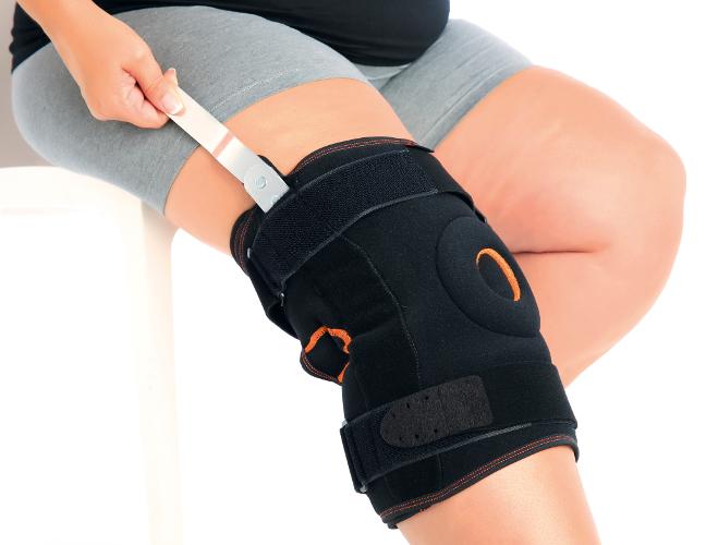 Stabilizator kolana z szynami bocznymi OPL480 – OPL481