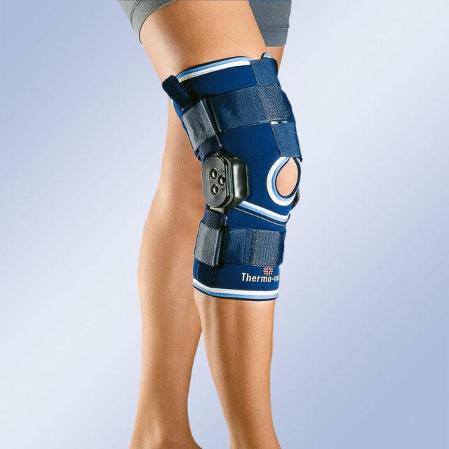 Orteza stawu kolanowego z ruchomym stawem kolanowym z regulacją kąta zgięcia 4112