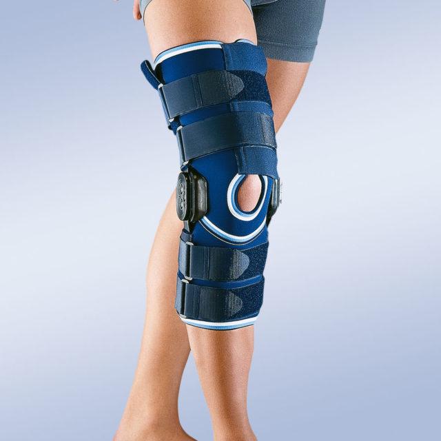 Orteza stawu kolanowego z ruchomym stawem kolanowym z regulacją kąta zgięcia 4113