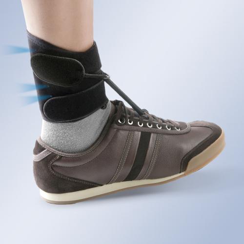 Orteza sztywna lub półsztywna z tworzywa sztucznego na goleń i stopę BOXIA® AB01
