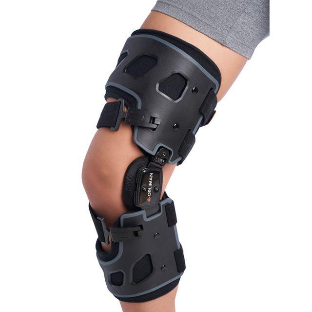 Funkcjonalana orteza stawu kolanowego z boczną regulacją korekcji koślawości/szpotawości kolana OCR300D (prawa) / OCR300I (lewa)
